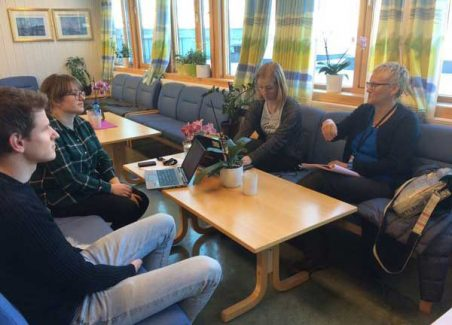 Feedback after classroom observations, Oslo, Norway