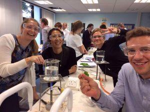 Training science teachers, Manchester UK