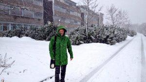 Beautiful winters day in Oslo